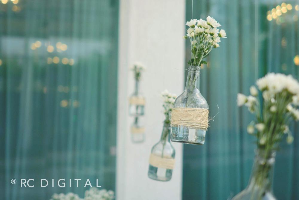 Psiu Noiva - Inspirações com Garrafas para Casamento Rústico